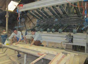 Quy trình sản xuất gỗ ghép thanh công nghiệp