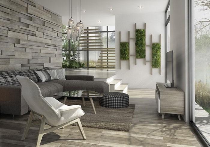 Xu hướng thiết kế gia công nội thất phòng khách năm 2020