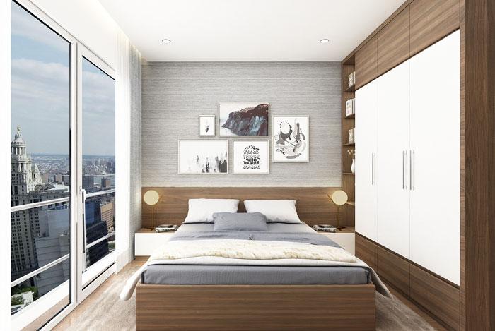 Giải pháp gia công nội thất gỗ công nghiệp cho phòng ngủ nhỏ