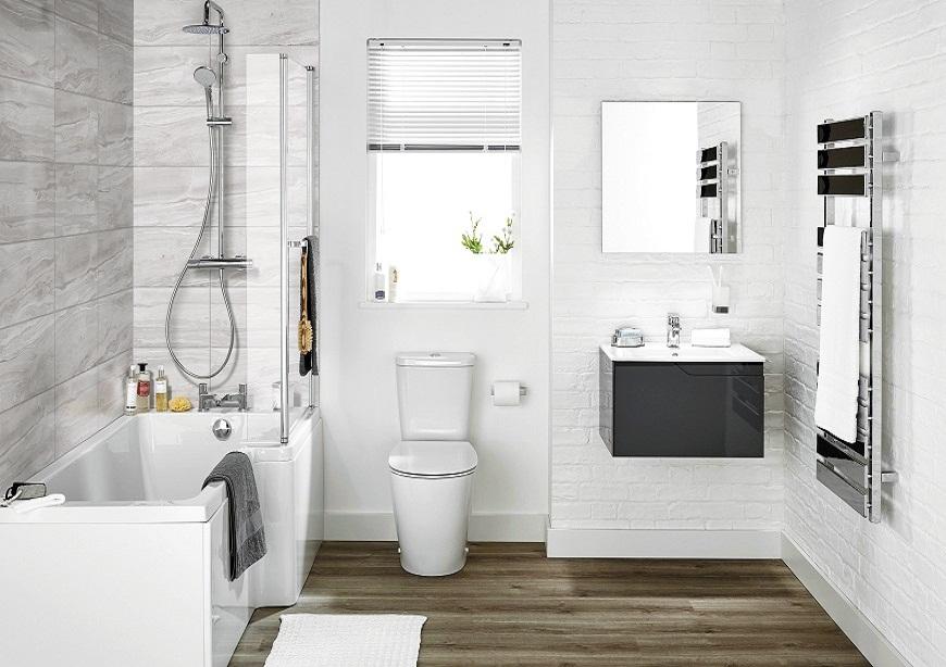 Thiết kế nội thất phòng tắm hợp phong thủy
