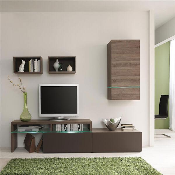 Những mẫu kệ tivi gỗ công nghiệp cho nội thất hiện đại