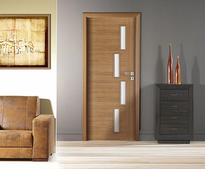 Các loại cửa gỗ công nghiệp phổ biến hiện nay
