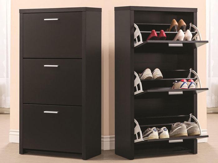 Tủ, kệ đựng giầy dép thông minh với chất liệu gỗ MFC