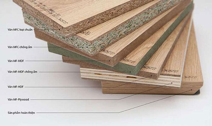 Sự khác nhau giữa gỗ công nghiệp MDF và HDF