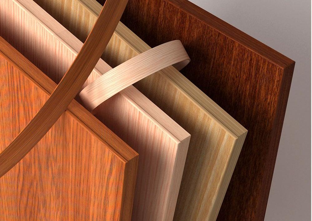 Các loại lớp phủ bề mặt gỗ công nghiệp