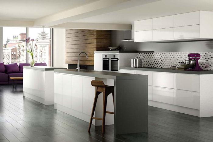 So sánh 2 loại tủ bếp Laminate và Acrylic