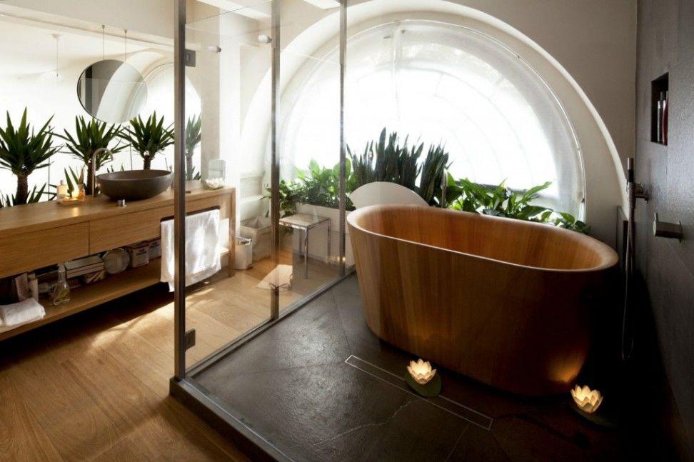Thiết kế, gia công nội thất phòng tắm phong cách Nhật Bản