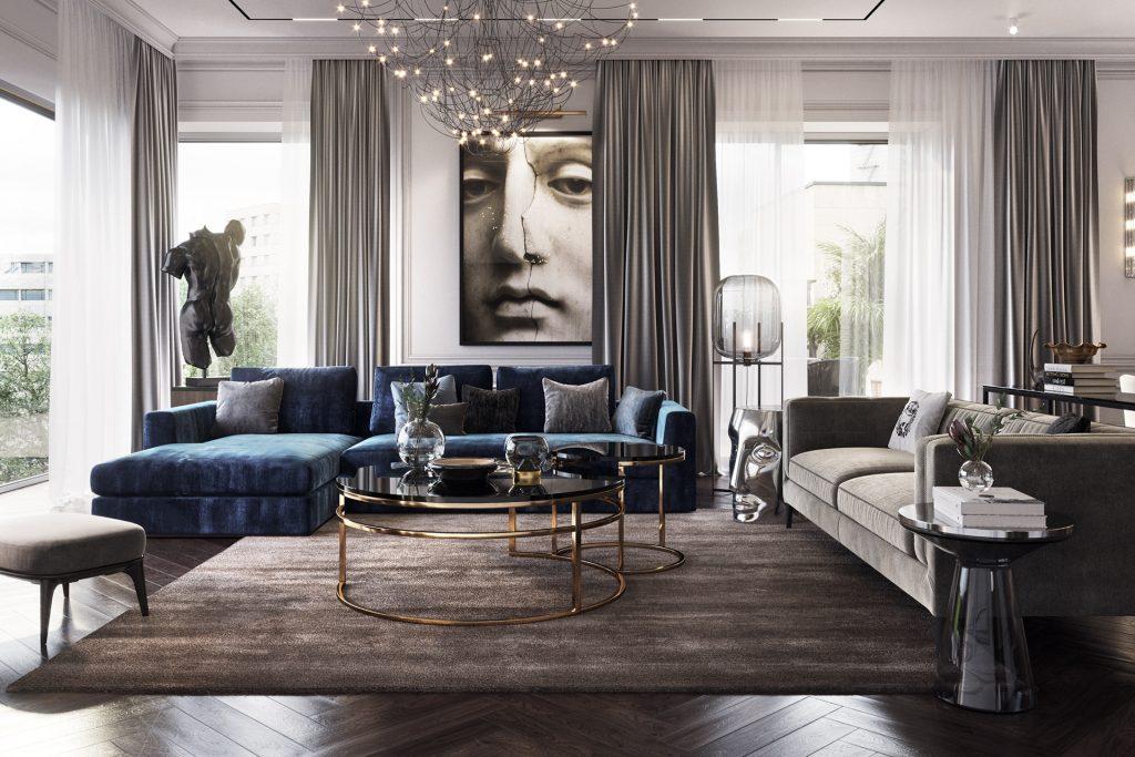 Phong cách Luxury trong thiết kế nội thất