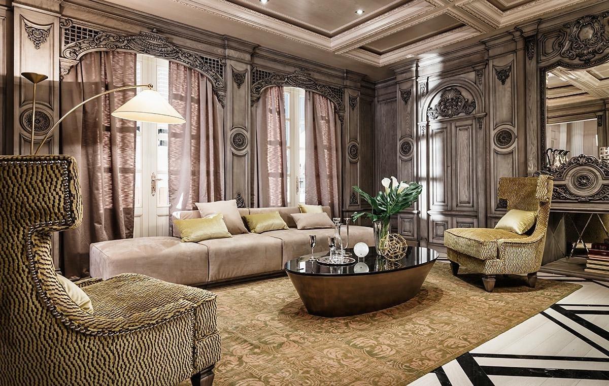 Phong cách Art Nouveau trong thiết kế nội thất