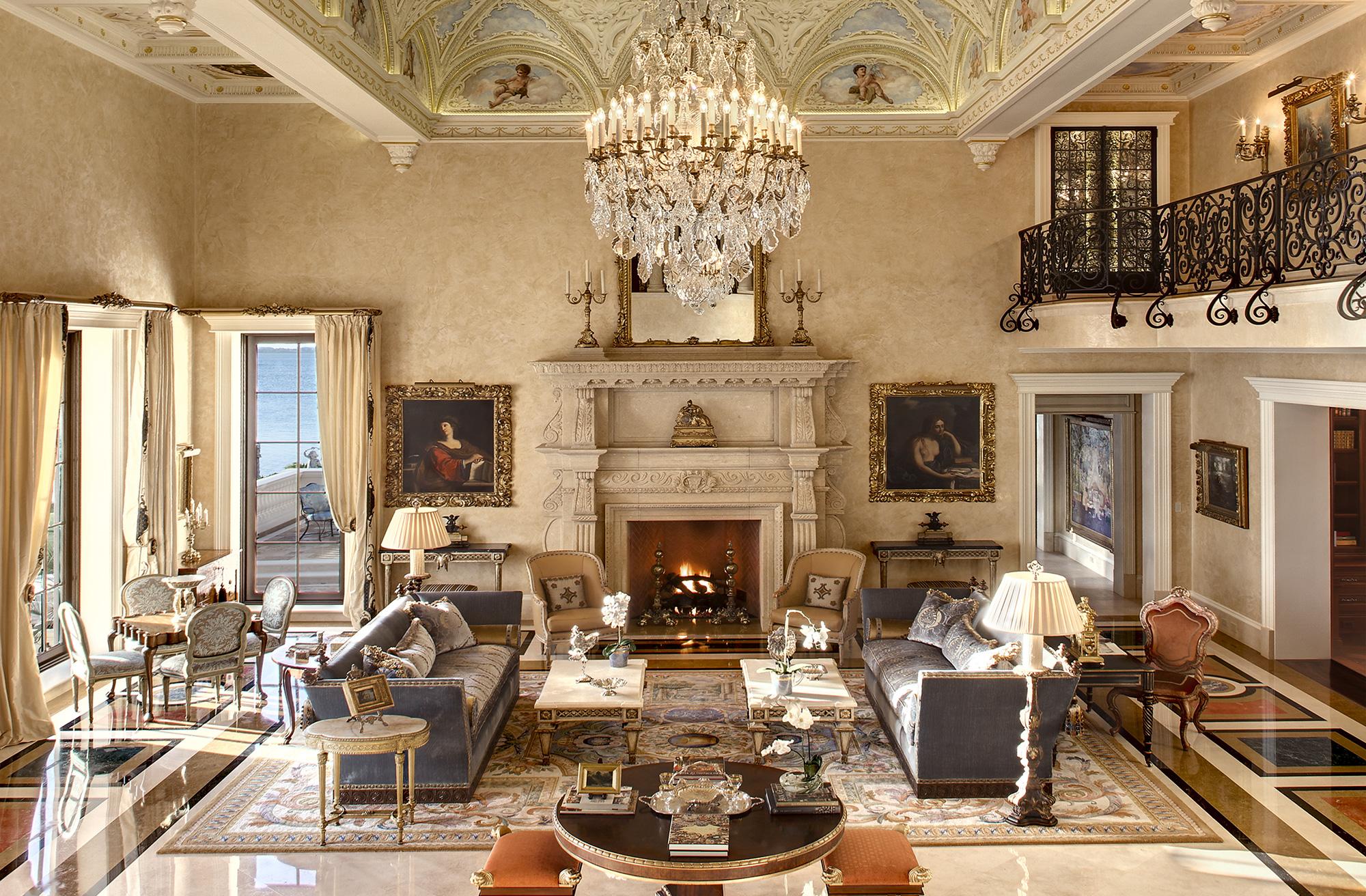 Phong cách Baroque trong thiết kế nội thất