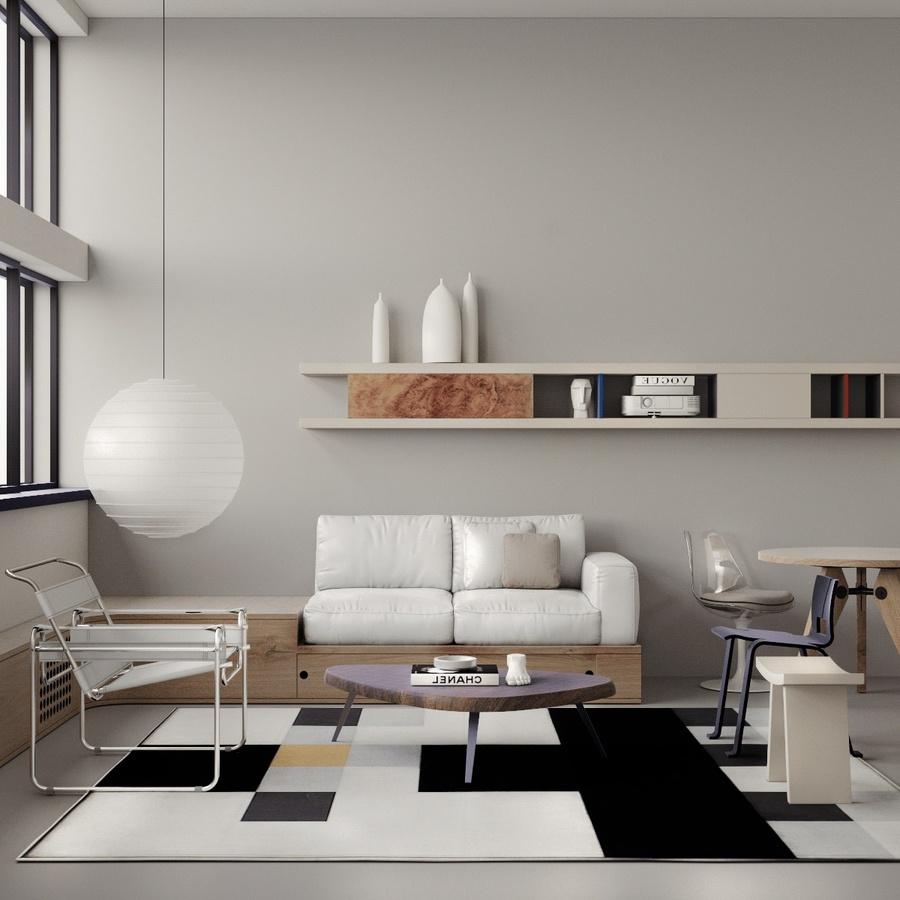 Phong cách Bauhaus trong thiết kế nội thất