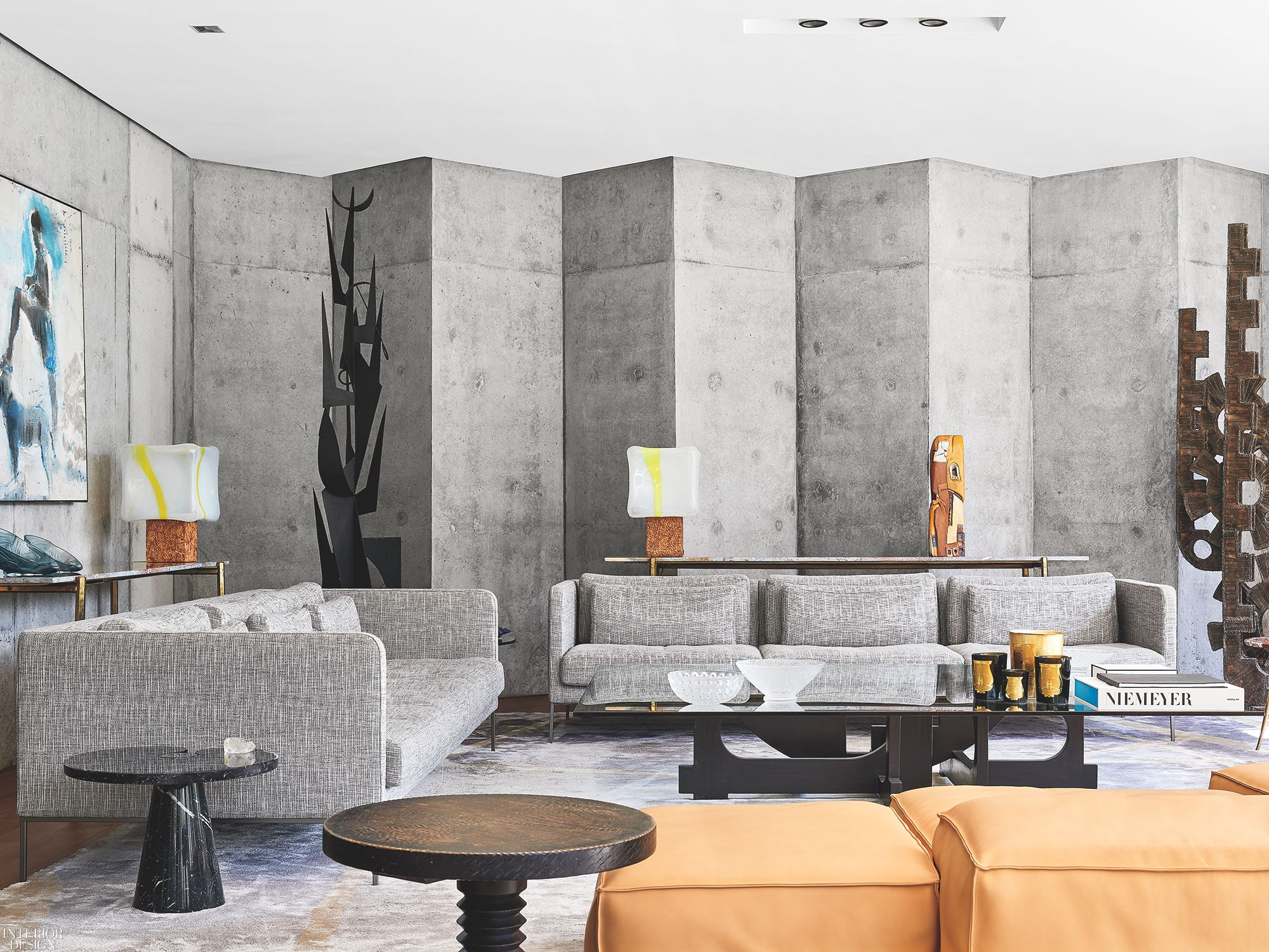 Phong cách Brutalism trong thiết kế nội thất