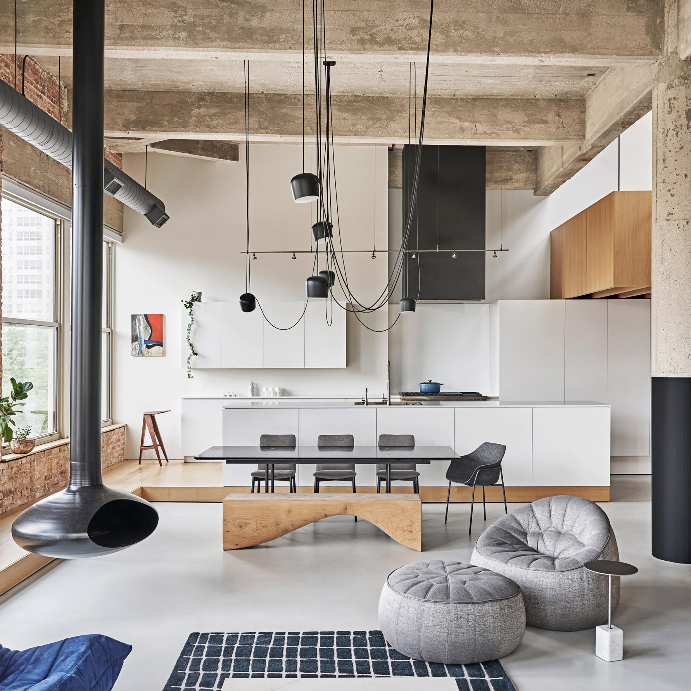 Phong cách Loft trong thiết kế nội thất