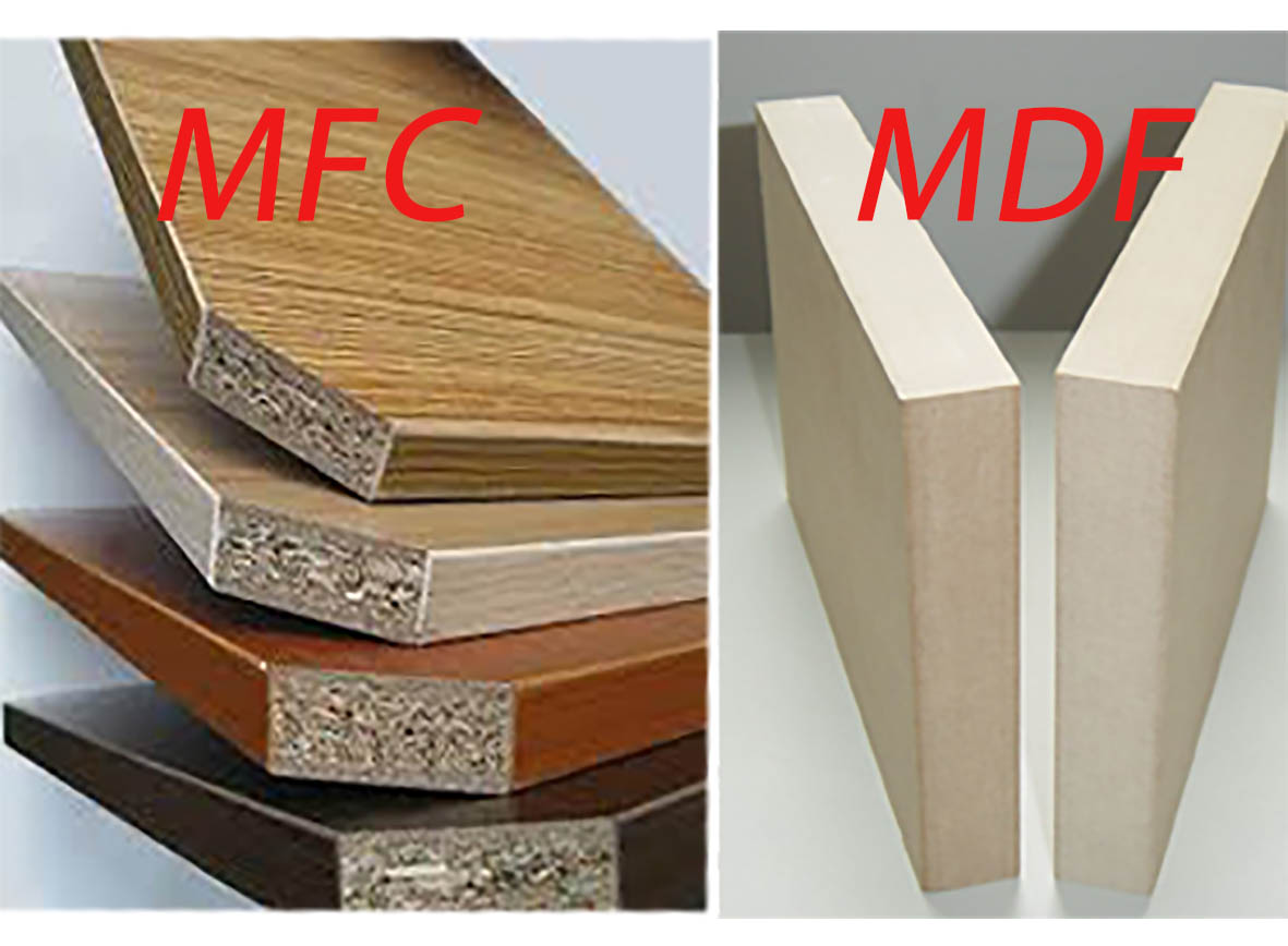 So sánh hai loại gỗ công nghiệp MFC và MDF