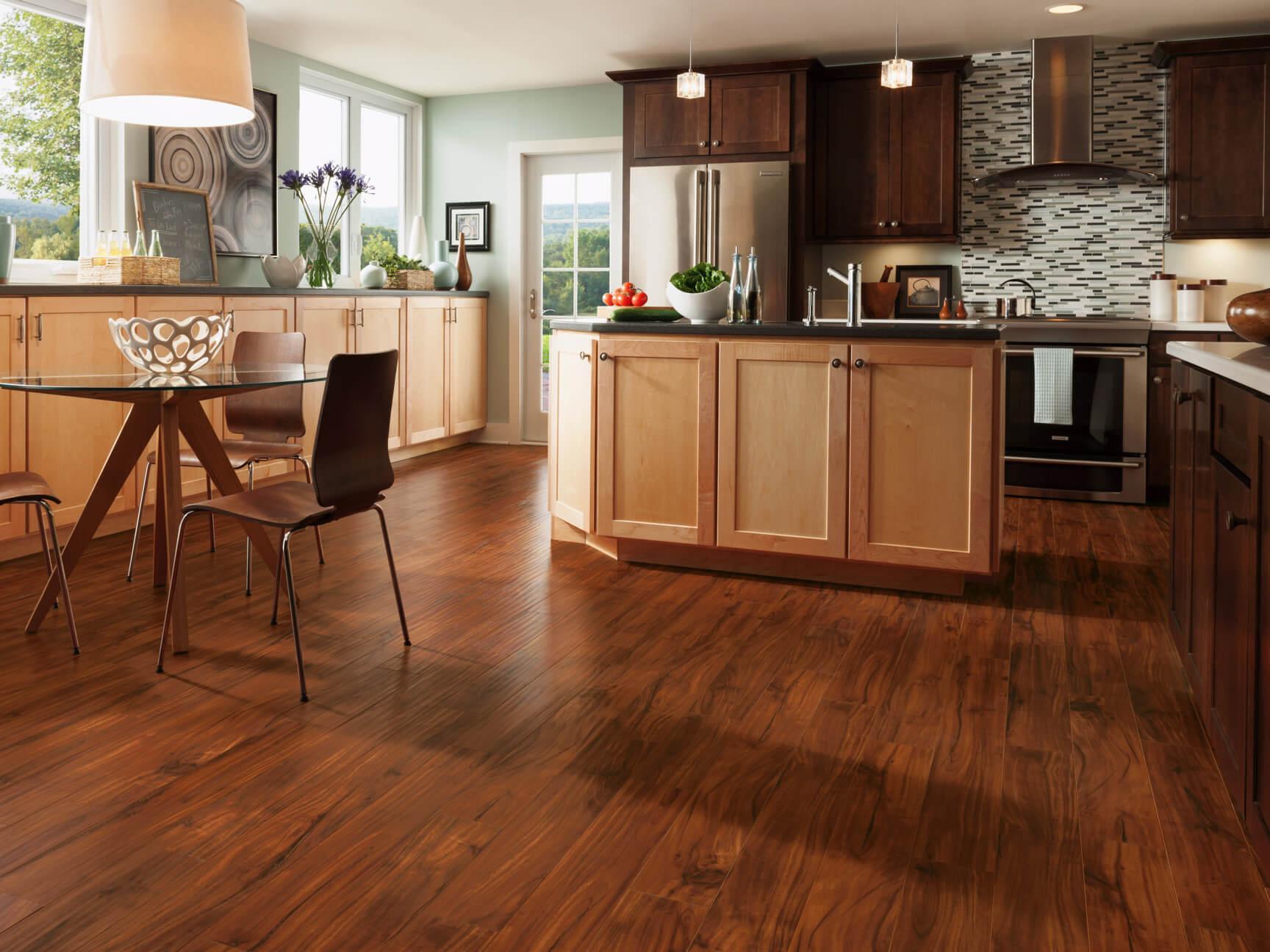 Ứng dụng Laminate trên sàn gỗ công nghiệp