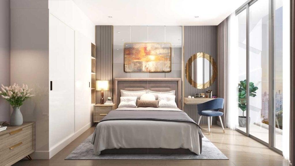 Vai trò của bàn trang điểm trong thiết kế nội thất phòng ngủ