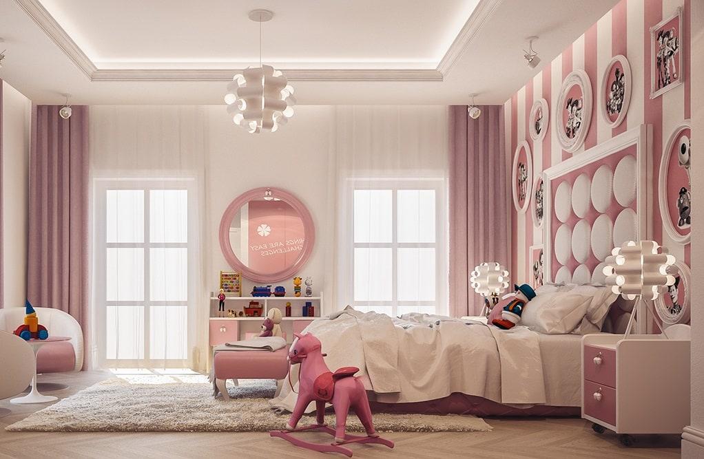Gợi ý cách thiết kế phòng ngủ cho bé gái