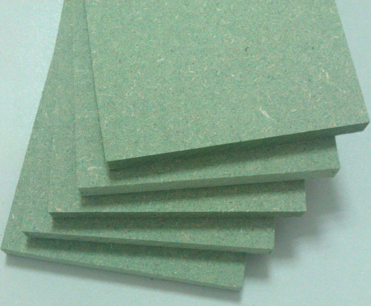 Gỗ công nghiệp MDF chống ẩm lõi xanh