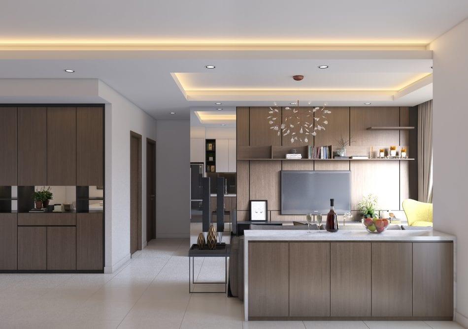 Tủ bếp và cách lựa chọn phù hợp