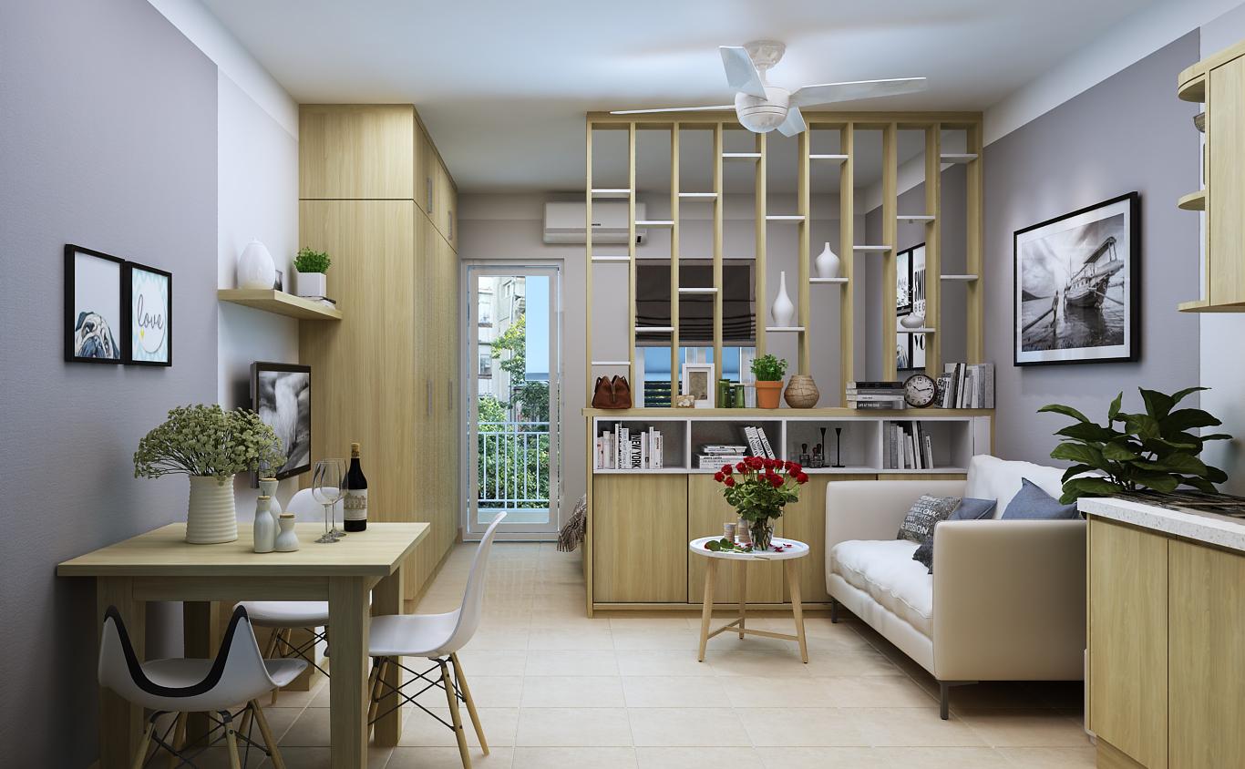 Tư vấn thiết kế nội thất nhà ở có diện tích nhỏ hẹp