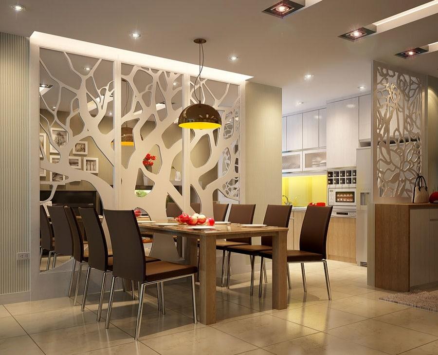 Vách ngăn CNC- cách tạo dấu ấn cho không gian nội thất nhà bạn