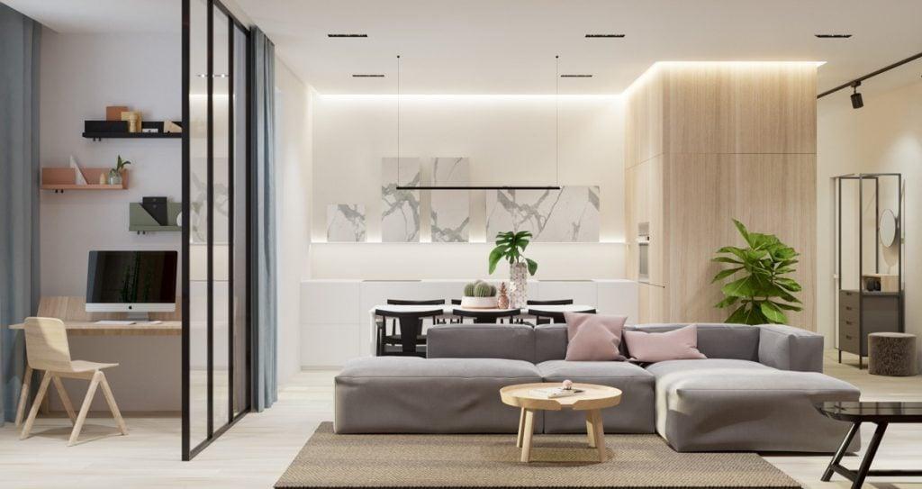 Thiết kế nội thất chung cư sao cho hợp phong thủy