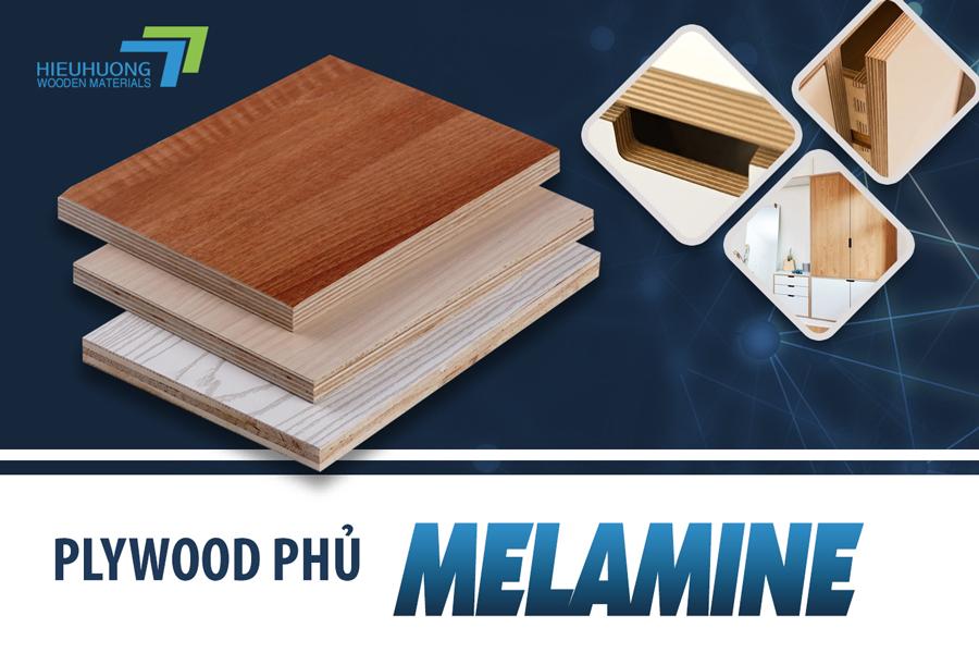 Plywood phủ Melamine là gì? Ứng dụng của chúng